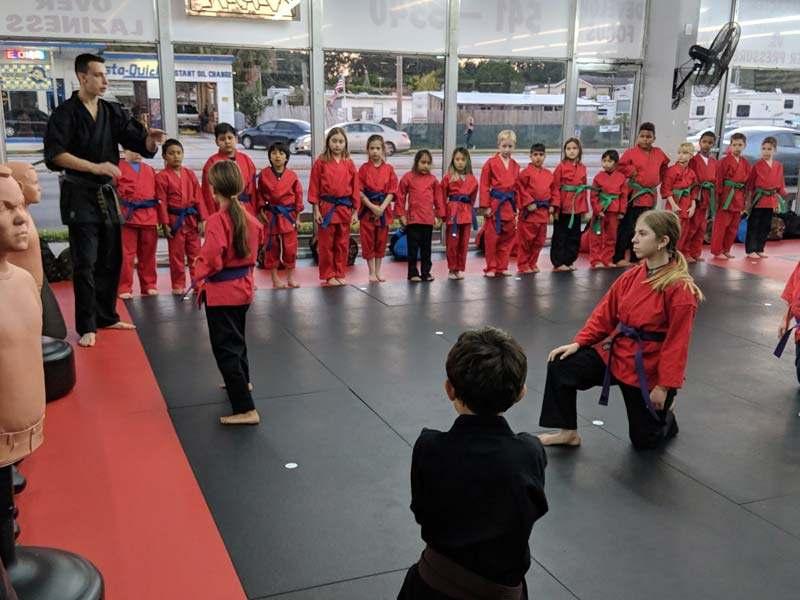 Kidsmabushido1, Bushido Academy